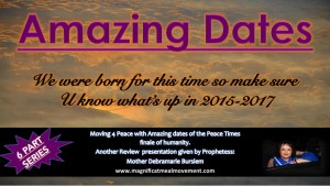 Amazing Dates 2015 - 2017 Magnificat Meal Movement