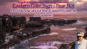 Eastern Gate Sign - Fear Not