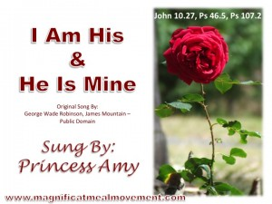 I Am His And He Is Mine