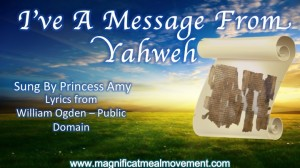 I've A Message From Yahweh - Magnificat Meal Movement Choir