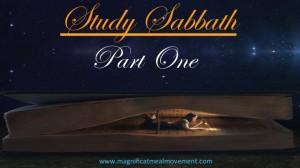 Study Sabbath - Magnificat Meal Movement