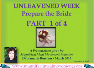 Unleavened Week - 4 Part Series