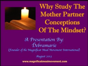 Why Study The Mother Partner Conceptions of The Mindset