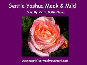 gentle yashua meek and mild