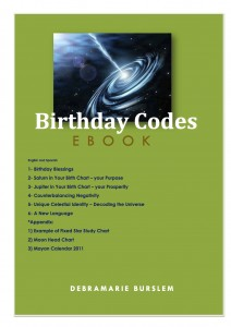 Birthday Codes by Debramarie Burslem.