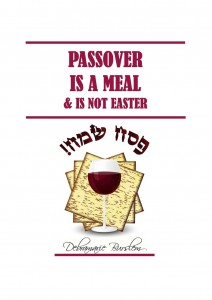Passover Is A Meal by Debramarie Burslem
