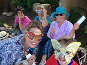 Magnificat Meal Movement - Purim Group Masks