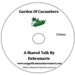 Magnificat Meal Movement Garden of Cucumbers by Mother Debra Burlsem