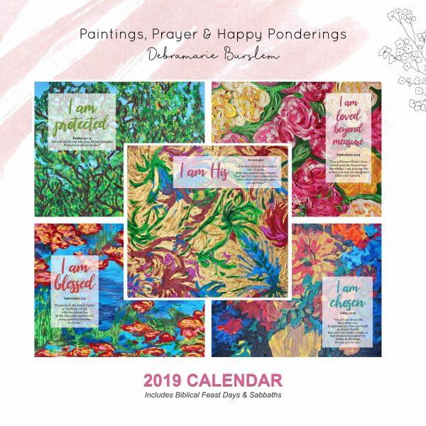 Debra M Burslem 2019 Calendar