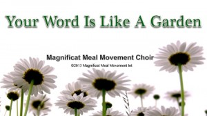 Magnificat Meal Movement Choir.