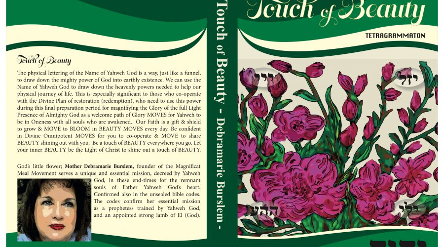 "New Book – ""Touch of Beauty"" from Mother Debramarie – Pre Purchase Now"
