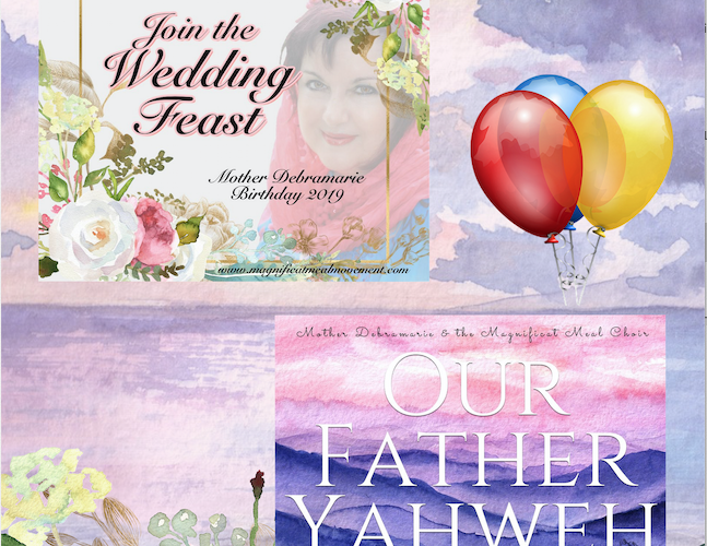 Birthday Cd's Released – Join The Wedding Feast & Our Father Yahweh