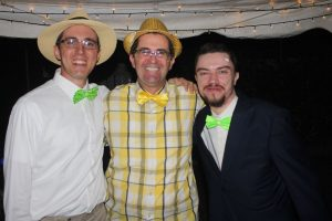 Magnificat Meal Movement bow tie party