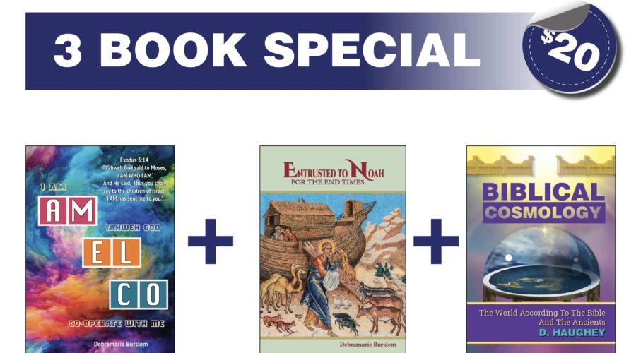 3 Book Special